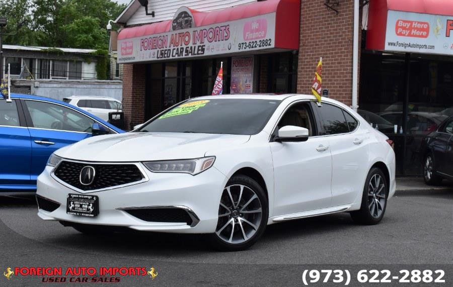 Used 2018 Acura TLX in Irvington, New Jersey   Foreign Auto Imports. Irvington, New Jersey