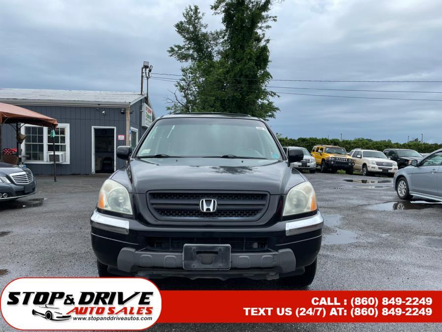 Used Honda Pilot 4WD EX Auto w/Leather 2003 | Stop & Drive Auto Sales. East Windsor, Connecticut