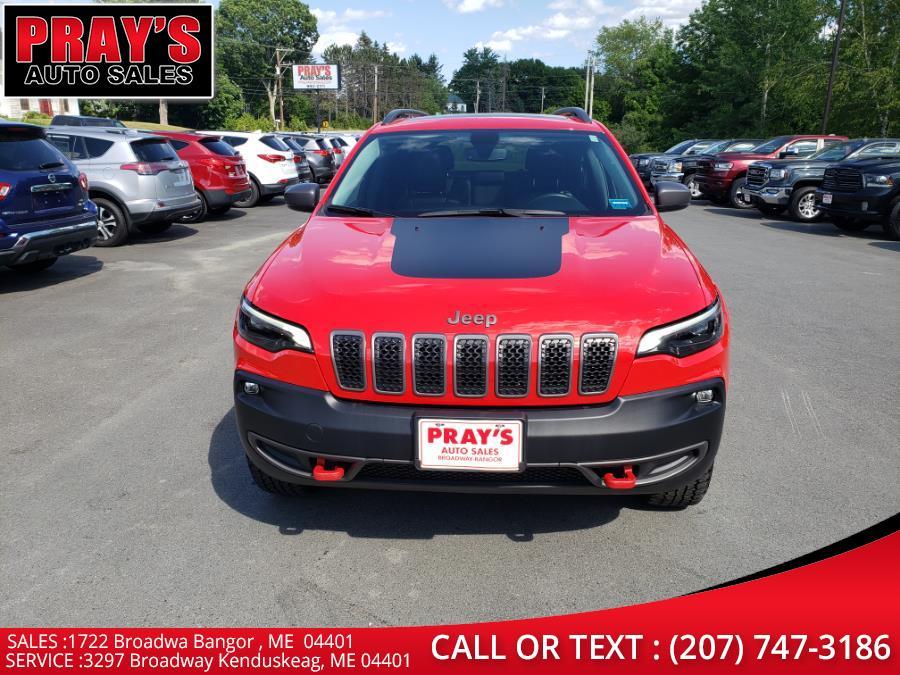 Used Jeep Cherokee Trailhawk 4x4 2019   Pray's Auto Sales . Bangor , Maine