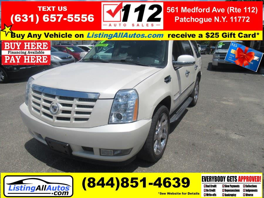 Used 2010 Cadillac Escalade in Patchogue, New York | www.ListingAllAutos.com. Patchogue, New York