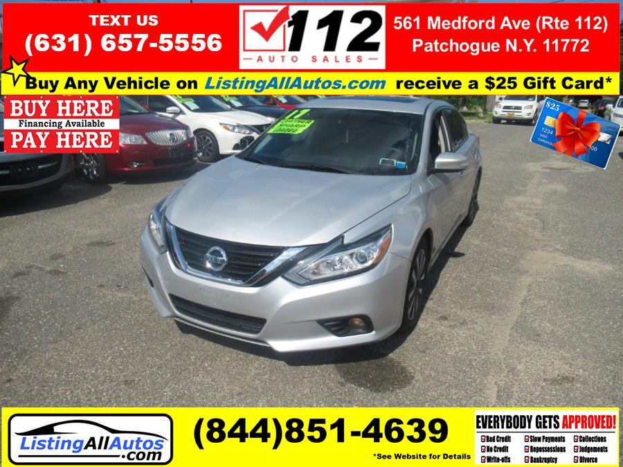 Used Nissan Altima 2.5 S Sedan 2017   www.ListingAllAutos.com. Patchogue, New York