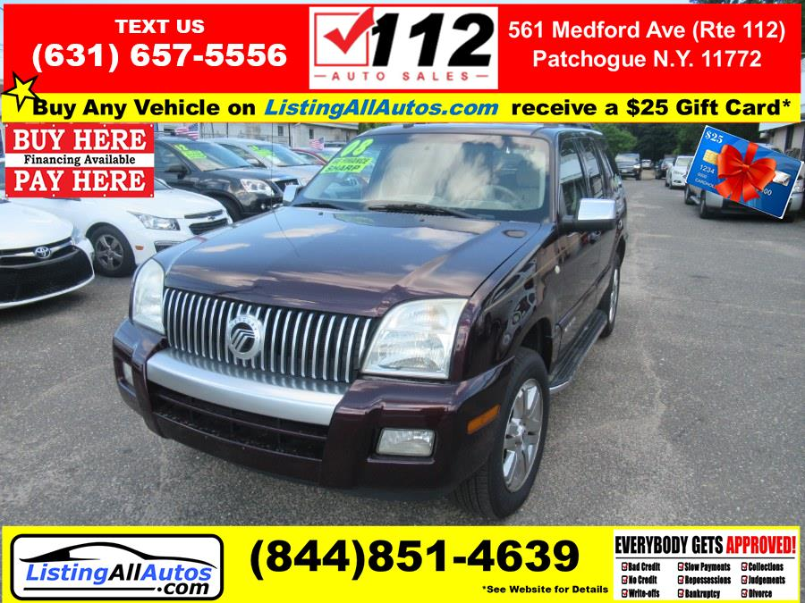 Used 2008 Mercury Mountaineer in Patchogue, New York | www.ListingAllAutos.com. Patchogue, New York
