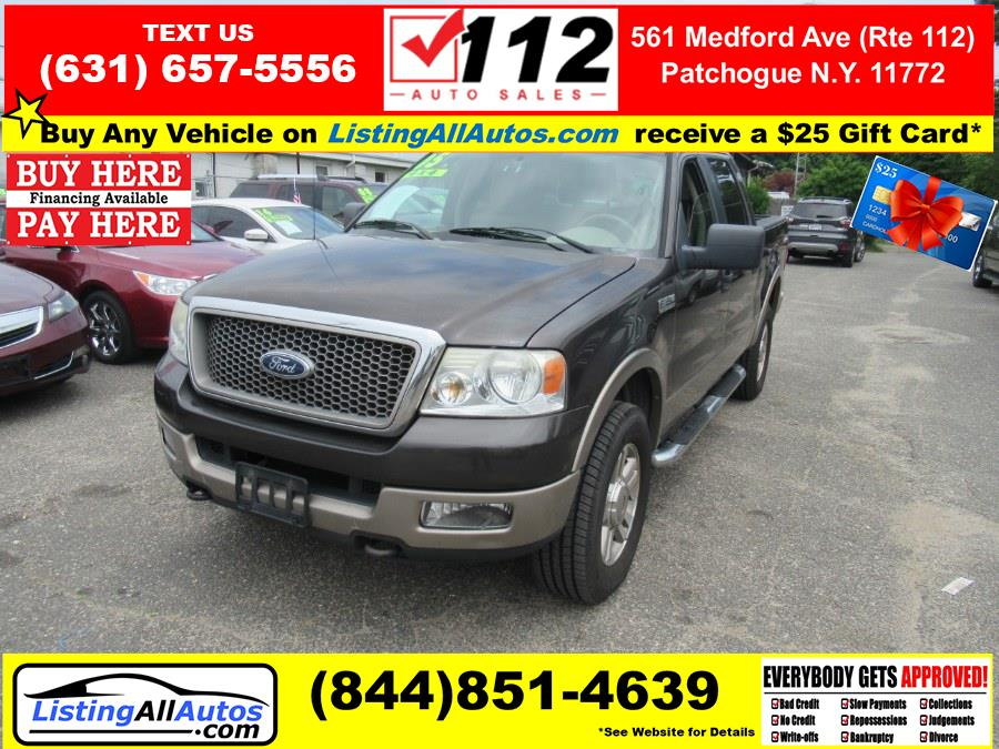 Used 2005 Ford F-150 in Patchogue, New York | www.ListingAllAutos.com. Patchogue, New York