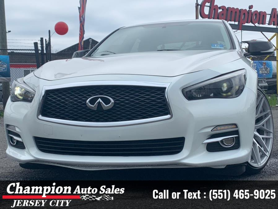 Used 2014 INFINITI Q50 in Jersey City, New Jersey | Champion Auto Sales. Jersey City, New Jersey
