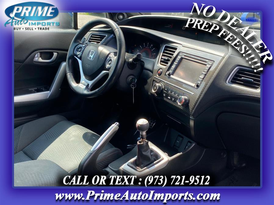 Used Honda Civic Cpe 2dr Man Si w/Navi 2013   Prime Auto Imports. Bloomingdale, New Jersey