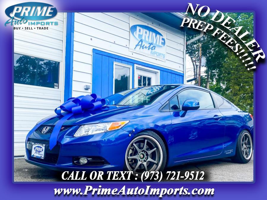 Used 2013 Honda Civic Cpe in Bloomingdale, New Jersey | Prime Auto Imports. Bloomingdale, New Jersey