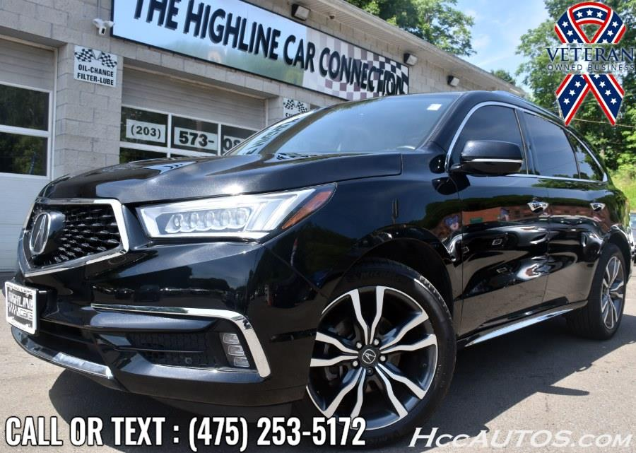 Used Acura MDX SH-AWD 7-Passenger w/Advance/Entertainment Pkg 2020   Highline Car Connection. Waterbury, Connecticut