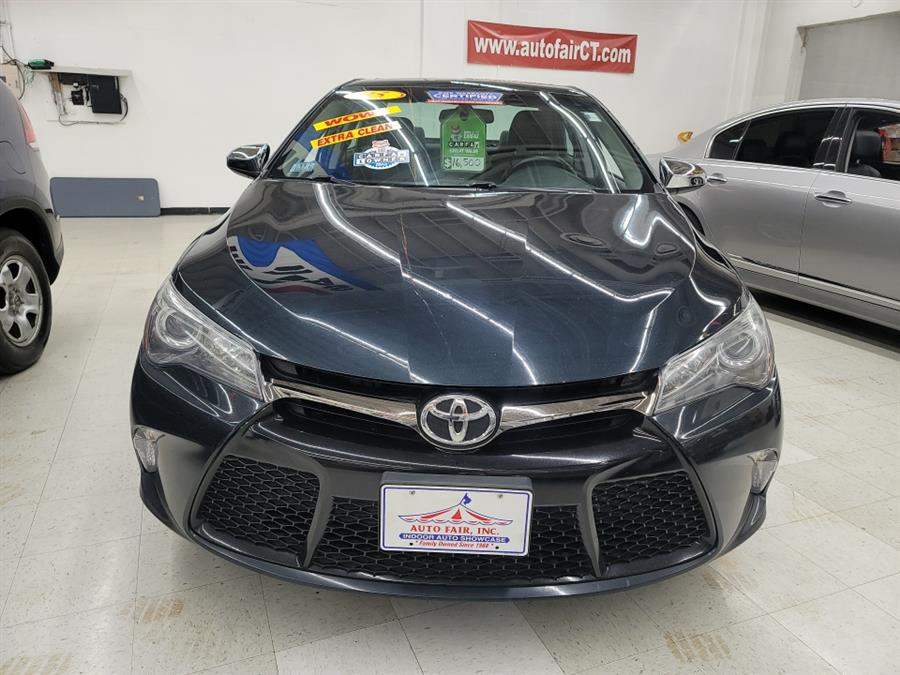 2015 Toyota Camry 4dr Sdn I4 Auto SE (Natl), available for sale in West Haven, CT
