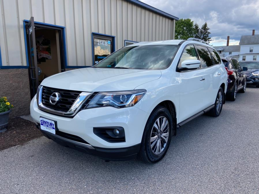 Used 2018 Nissan Pathfinder in East Windsor, Connecticut | Century Auto And Truck. East Windsor, Connecticut