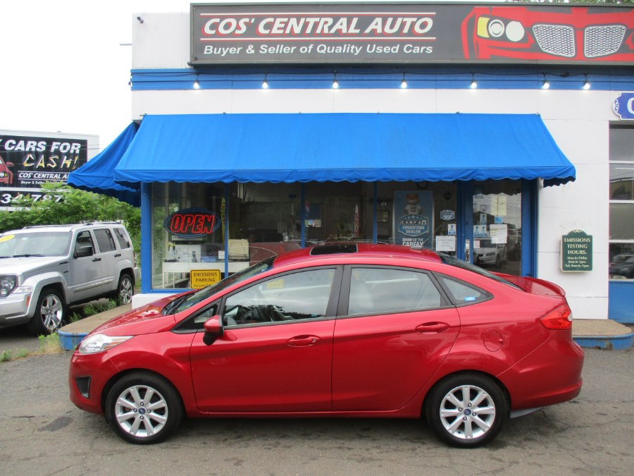 Used Ford Fiesta 4dr Sdn SE 2012 | Cos Central Auto. Meriden, Connecticut