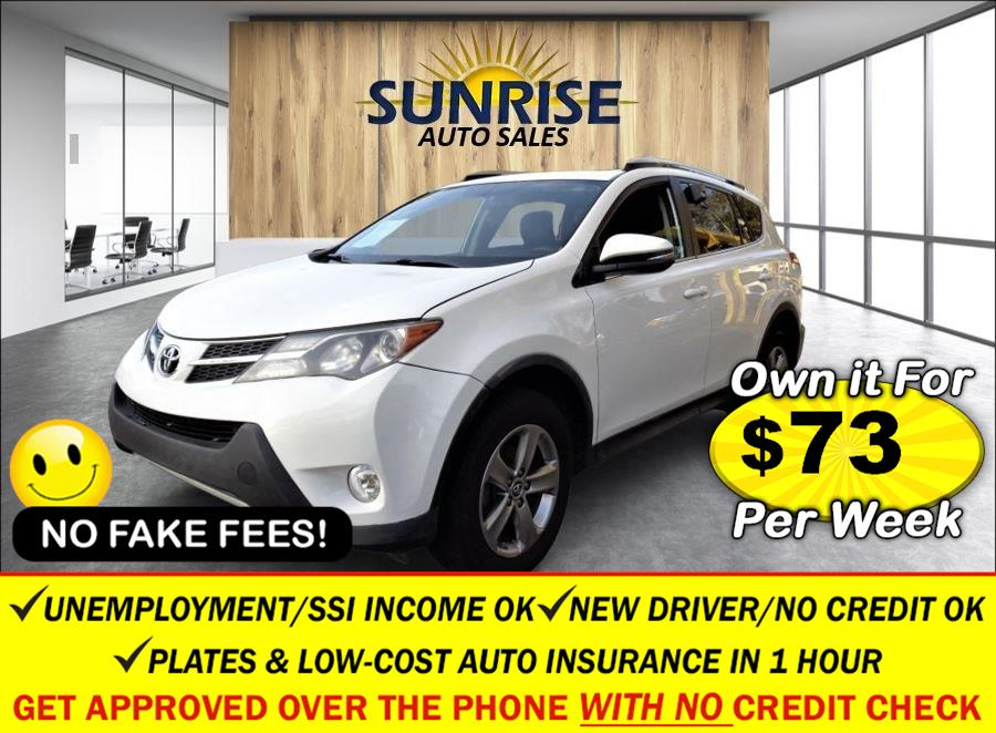 Used Toyota RAV4 AWD 4dr XLE (Natl) 2015   Sunrise Auto Sales. Rosedale, New York