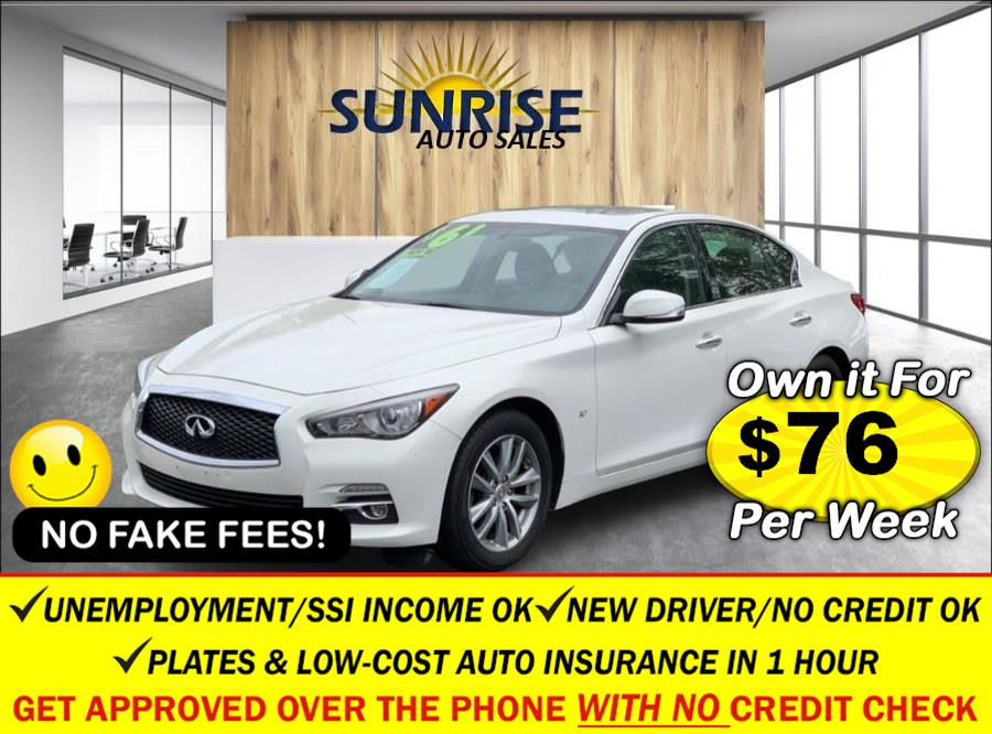 Used 2015 INFINITI Q50 in Rosedale, New York | Sunrise Auto Sales. Rosedale, New York