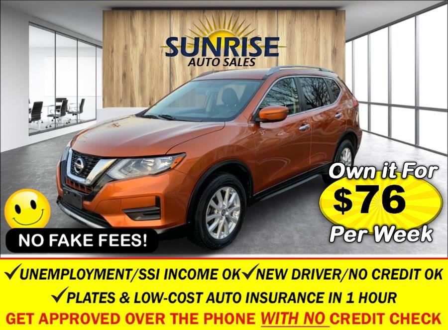 Used Nissan Rogue AWD SV 2017   Sunrise Auto Sales. Rosedale, New York