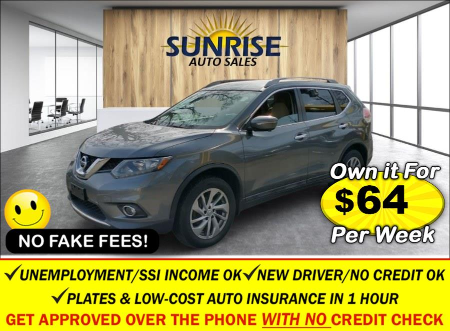 Used Nissan Rogue AWD 4dr SL 2015   Sunrise Auto Sales. Rosedale, New York