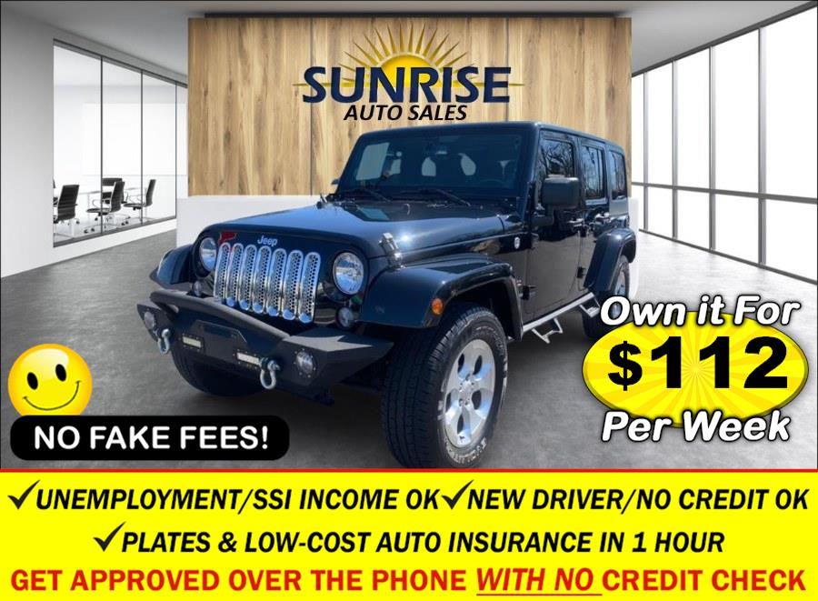 Used 2014 Jeep Wrangler Unlimited in Rosedale, New York | Sunrise Auto Sales. Rosedale, New York