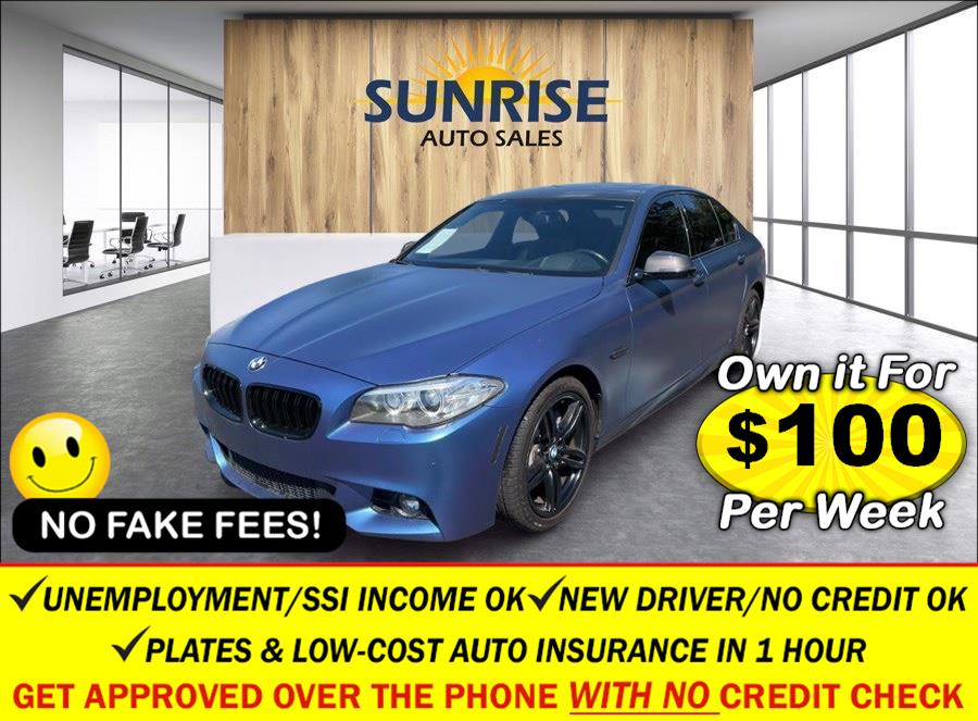 Used 2016 BMW 5 Series in Rosedale, New York | Sunrise Auto Sales. Rosedale, New York