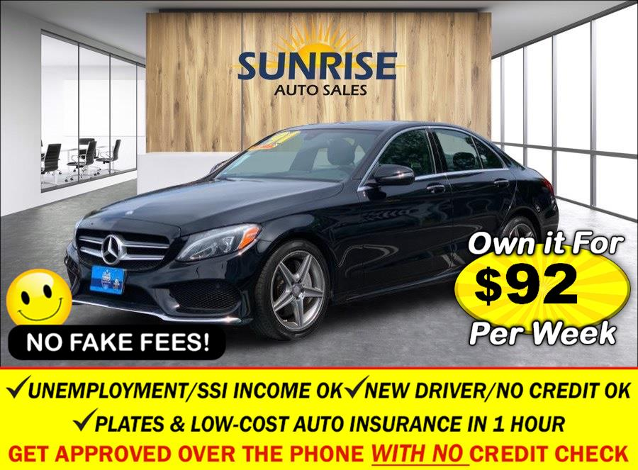 Used Mercedes-Benz C-Class 4dr Sdn C 300 4MATIC 2016   Sunrise Auto Sales. Rosedale, New York