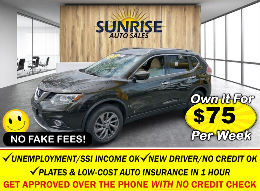 Used Nissan Rogue AWD 4dr SL 2016   Sunrise Auto Sales. Rosedale, New York