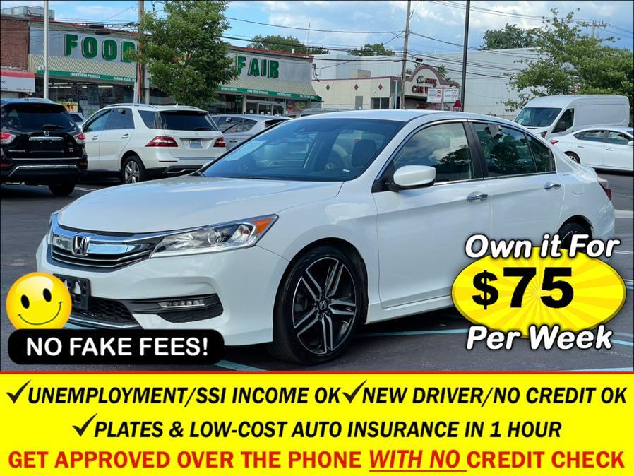 Used Honda Accord Sedan Sport CVT w/Honda Sensing 2017   Sunrise Auto Sales. Rosedale, New York