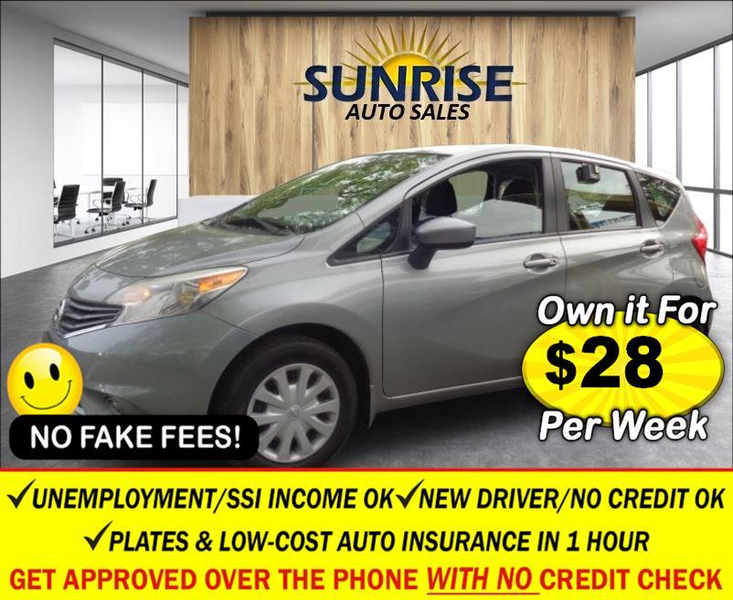 Used Nissan Versa Note 5dr HB CVT 1.6 S Plus 2015 | Sunrise Auto Sales. Rosedale, New York