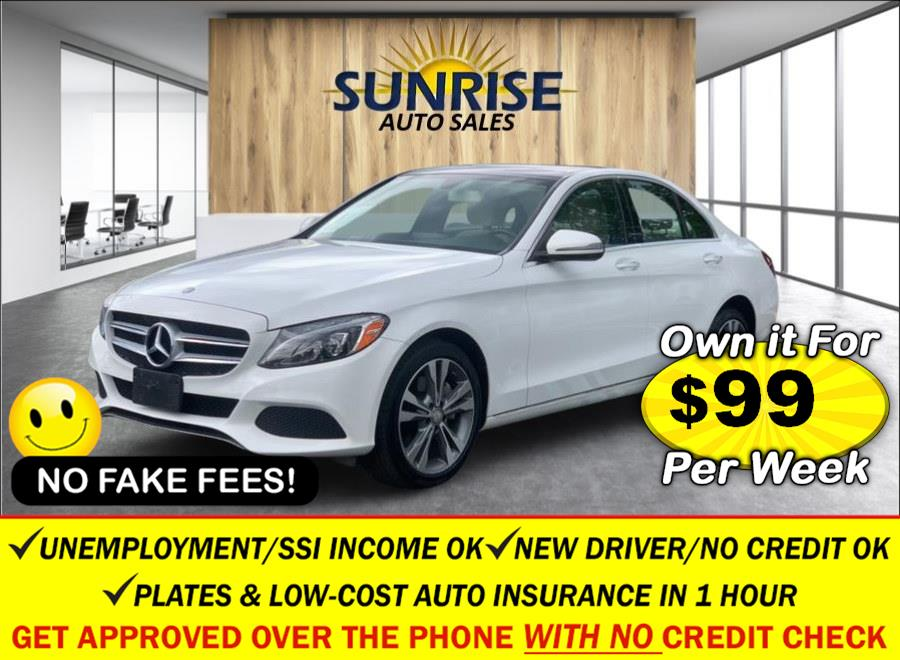 Used Mercedes-Benz C-Class 4dr Sdn C300 4MATIC 2016   Sunrise Auto Sales. Rosedale, New York