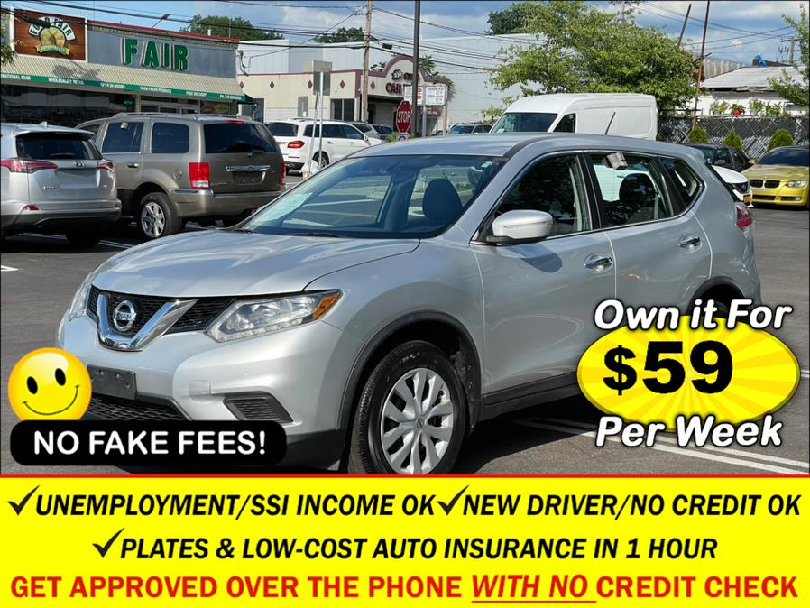 Used Nissan Rogue AWD 4dr S 2015   Sunrise Auto Sales. Rosedale, New York