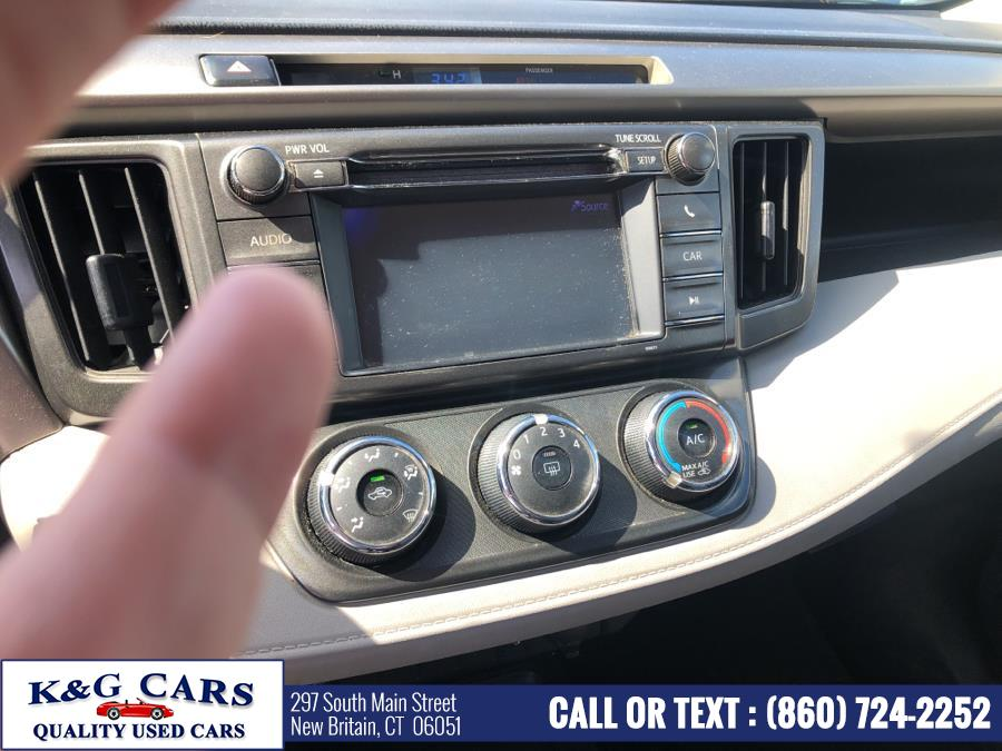 Used Toyota RAV4 4WD 4dr LE 2013 | K and G Cars . New Britain, Connecticut