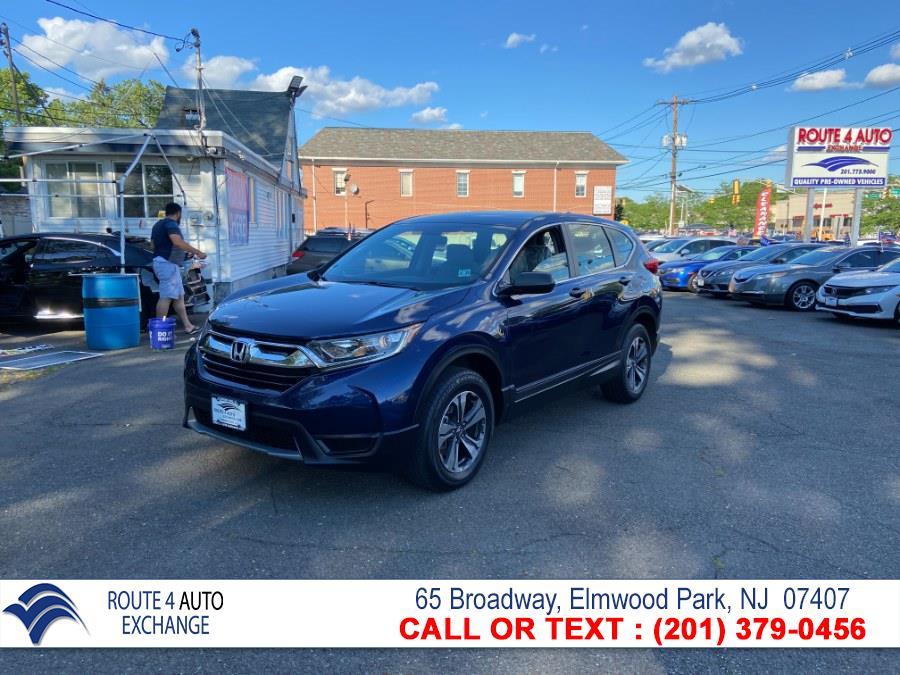 Used Honda CR-V LX AWD 2018 | Route 4 Auto Exchange. Elmwood Park, New Jersey