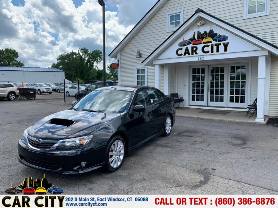 Used Subaru Impreza Sedan (Natl) 4dr Auto WRX w/Premium Pkg 2008   Car City LLC. East Windsor, Connecticut