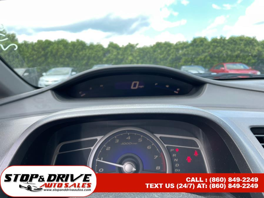 Used Honda Civic Sdn 4dr Auto LX 2009   Stop & Drive Auto Sales. East Windsor, Connecticut