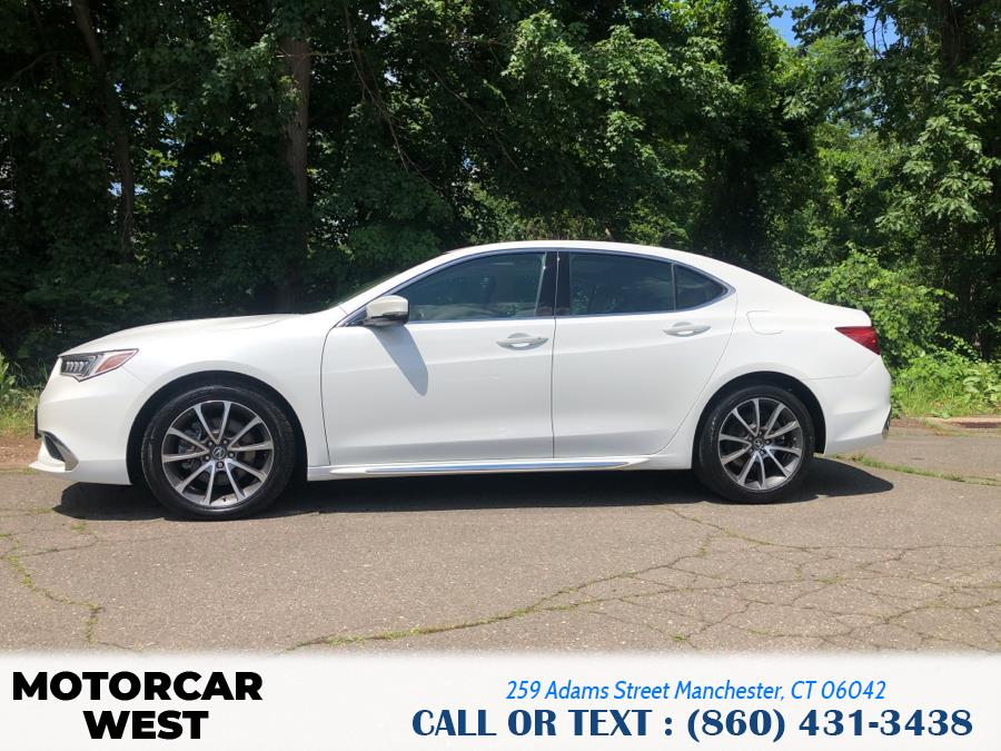 Used Acura TLX 3.5L FWD w/Technology Pkg 2018   Motorcar West. Manchester, Connecticut