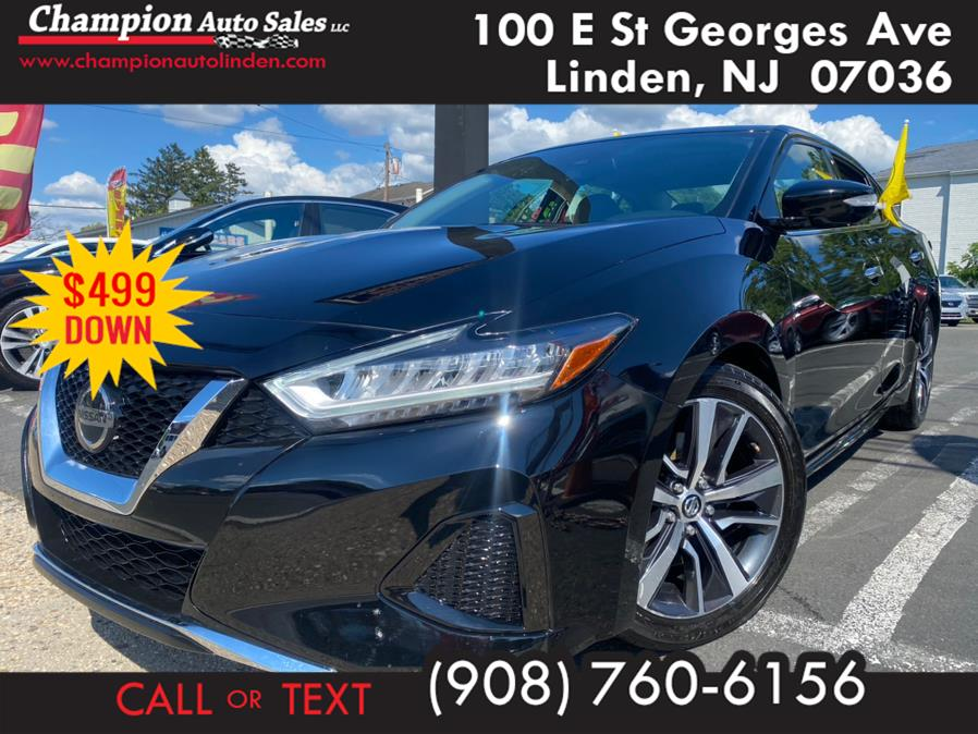 Used 2020 Nissan Maxima in Linden, New Jersey | Champion Auto Sales. Linden, New Jersey