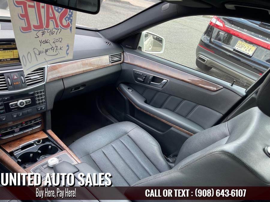 Used Mercedes-benz E-class E550 4MATIC 2012 | United Auto Sale. Newark, New Jersey