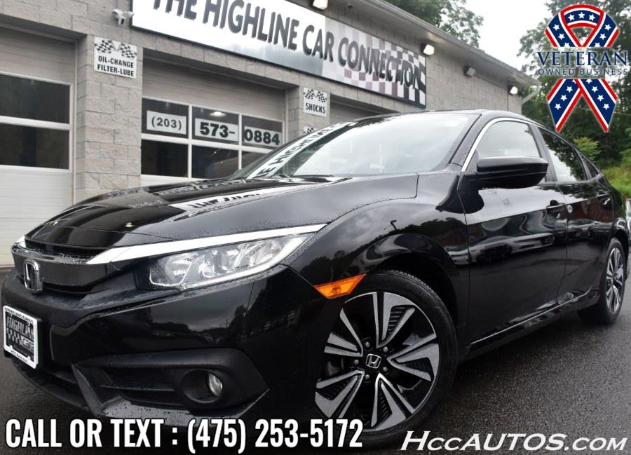 Used Honda Civic Sedan EX-T CVT 2018 | Highline Car Connection. Waterbury, Connecticut