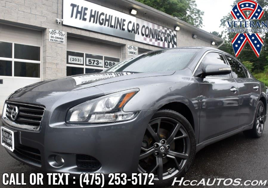 Used 2014 Nissan Maxima in Waterbury, Connecticut | Highline Car Connection. Waterbury, Connecticut