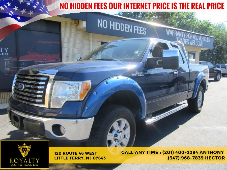 """Used Ford F-150 4WD SuperCab 145"""" XLT 2010   Royalty Auto Sales. Little Ferry, New Jersey"""