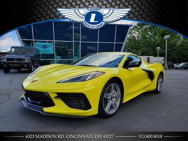 Used 2021 Chevrolet Corvette in Cincinnati, Ohio | Luxury Motor Car Company. Cincinnati, Ohio