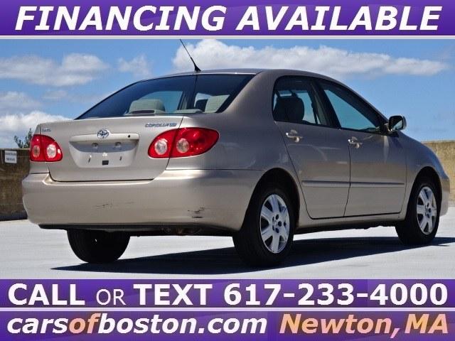 Used Toyota Corolla 4dr Sdn LE Auto (Natl) 2005 | Motorcars of Boston. Newton, Massachusetts