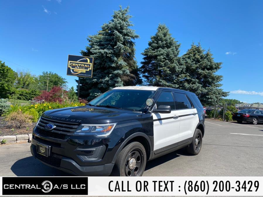 Used Ford Police Interceptor Utility AWD 2017   Central A/S LLC. East Windsor, Connecticut