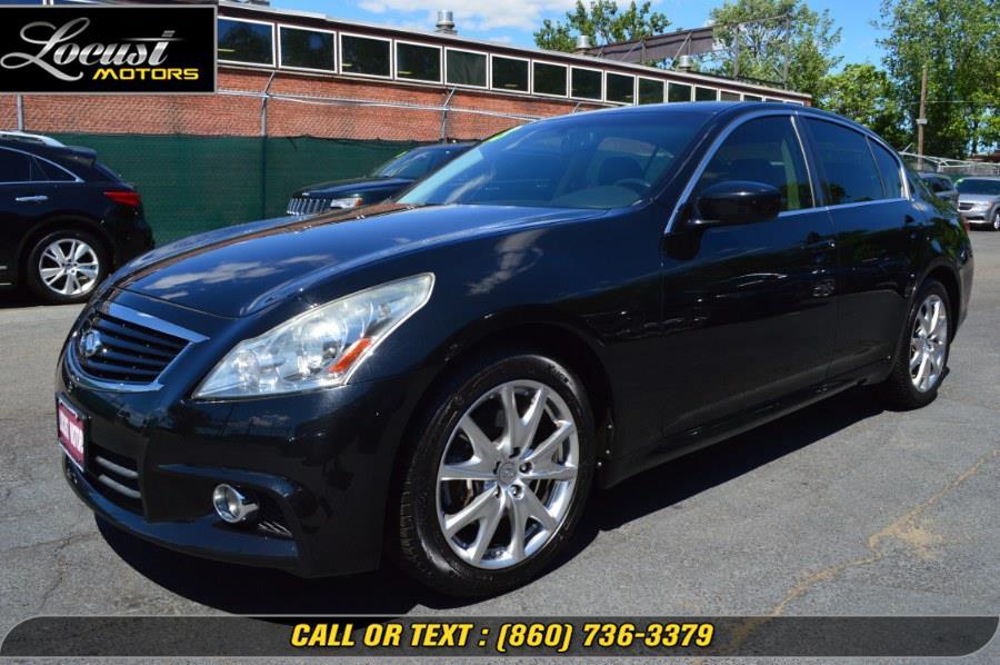 Used 2013 INFINITI G37 Sedan in Hartford, Connecticut | Locust Motors LLC. Hartford, Connecticut