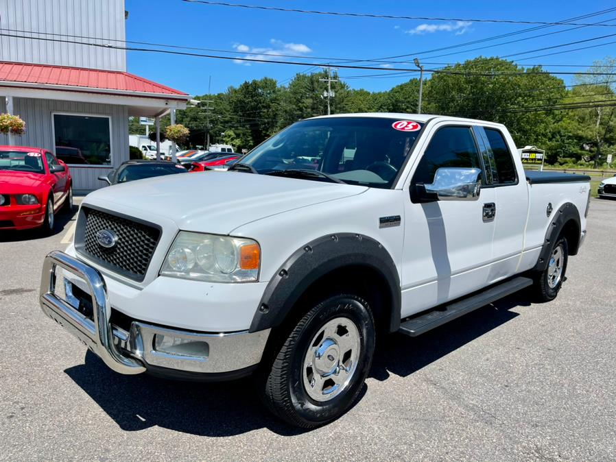 """Used Ford F-150 Supercab 133"""" XLT 4WD 2005   Mike And Tony Auto Sales, Inc. South Windsor, Connecticut"""