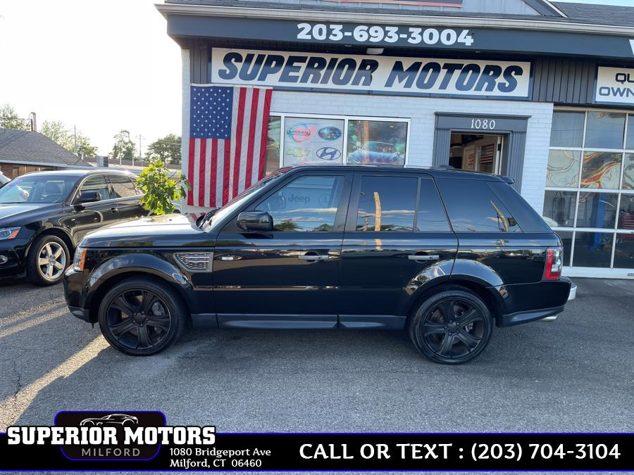 Used 2011 LAND ROVER SUPERCHARGE Range Rover Sport in Milford, Connecticut | Superior Motors LLC. Milford, Connecticut