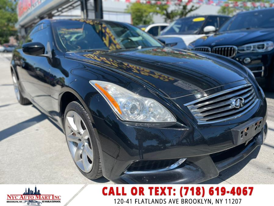 2010 Infiniti G37 Coupe 2dr x AWD, available for sale in Brooklyn, NY