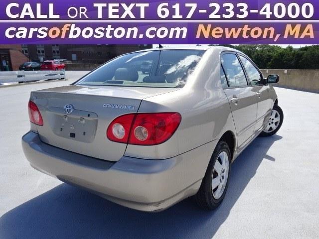 Used Toyota Corolla 4dr Sdn LE Auto (Natl) 2005   Jacob Auto Sales. Newton, Massachusetts