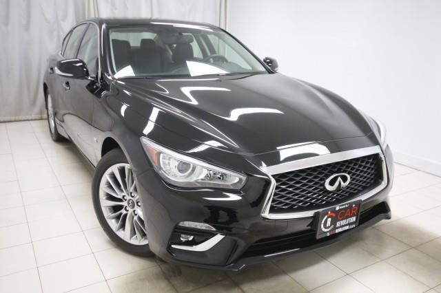 2018 Infiniti Q50 3.0t LUXE AWD w/ Navi & rearCam, available for sale in Maple Shade, NJ