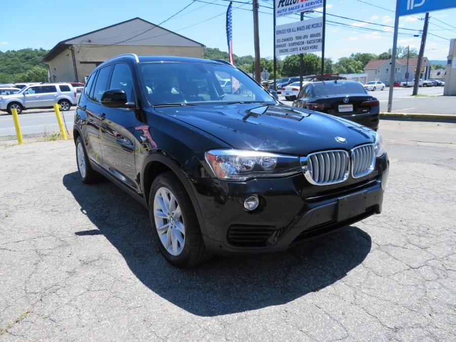 Used BMW X3 xDrive28i Sports Activity Vehicle 2017 | Auto Match LLC. Waterbury, Connecticut