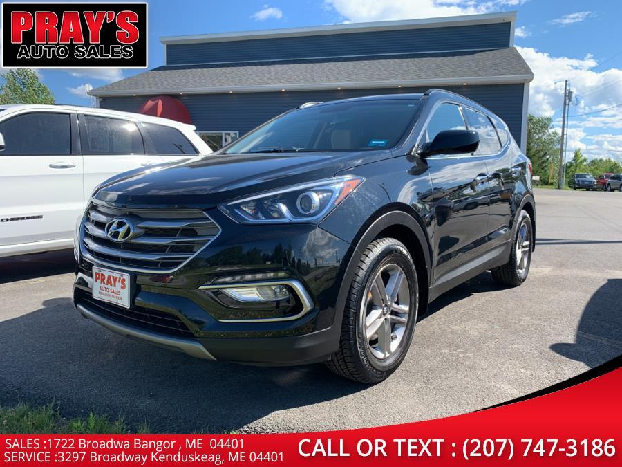 Used Hyundai Santa Fe Sport 2.4L Auto AWD 2017   Pray's Auto Sales . Bangor , Maine