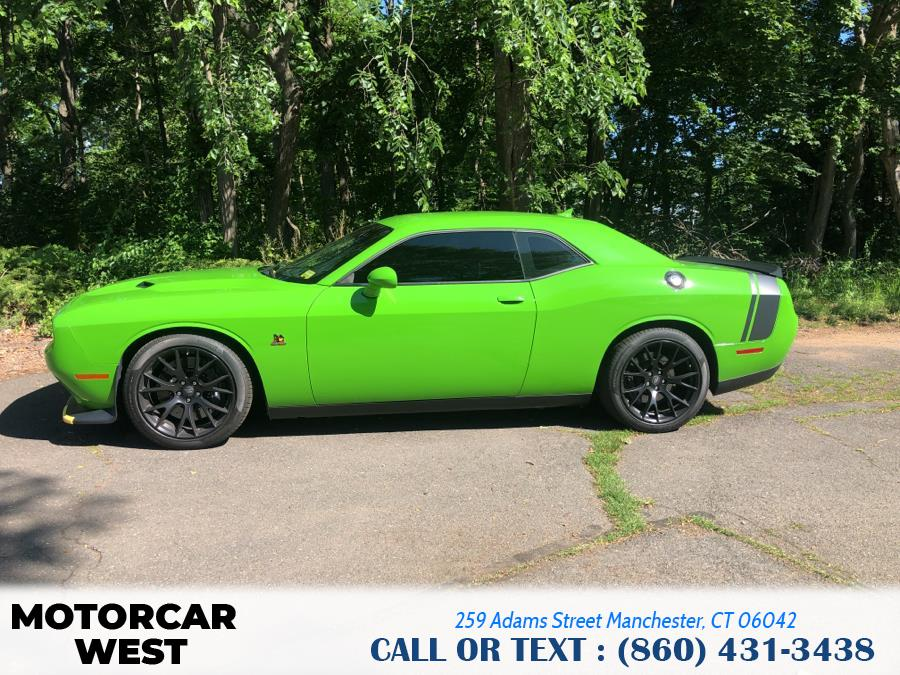 Used Dodge Challenger 392 Hemi Scat Pack Shaker Coupe 2017   Motorcar West. Manchester, Connecticut