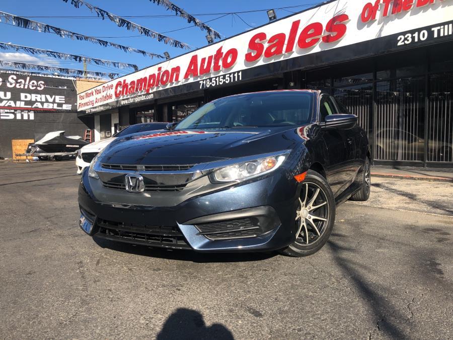 Used 2017 Honda Civic Sedan in Bronx, New York | Champion Auto Sales. Bronx, New York