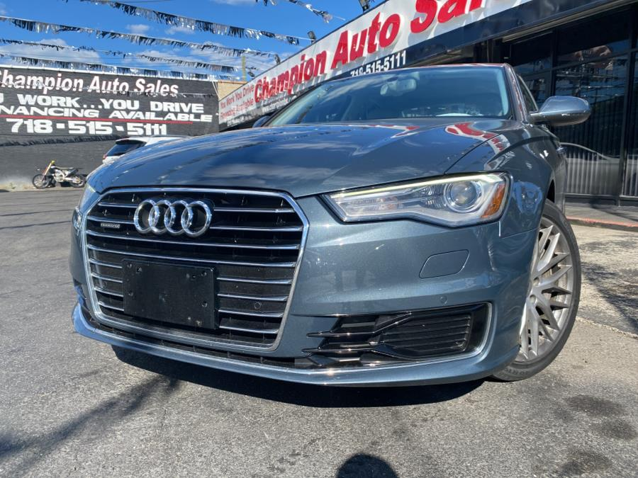 Used 2016 Audi A6 in Bronx, New York | Champion Auto Sales. Bronx, New York